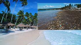 Kvůli znečištění byl uzavřen filipínský ostrov Boracay, turisté se na něj nepodívají půl roku.