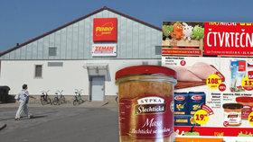 Penny Market nabízel maso bez masa.