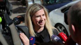 Exministryně Kateřina Valachová (ČSSD)
