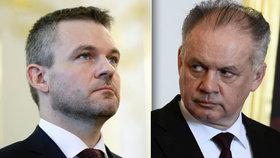 Pellegrini se pustil do Kisky, vadí mu jeho zasahování do chodu policie i to, že prezident tlačí na odvolání policejního prezidenta Tibora Gašpara.