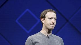 Mak Zuckerberg se přiznal, že průšvihy Facebooku jsou jeho chybou.