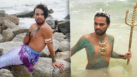 Mořskému panicovi se posmívají, že je gay.