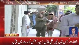 Češka Tereza H. přichází v Pákistánu k soudu