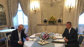 Prezident Miloš Zeman přijal 10. dubna na zámku v Lánech premiéra v demisi Andreje Babiše. Na důležité schůzce řešili, jak dál při vyjednávání o stabilní vládě.