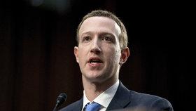 Šéf sociální sítě Facebook Mark Zuckerberg nemá s výtvorem zkratky nic společného