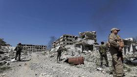 Syrské vládní jednotky postupně dobíjí východní Ghútu. Podle Ruska získaly kontrolu nad městem Dúmá.