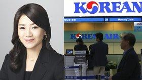Dcera ředitele Korean Air se omluvila za hysterickou scénu na poradě