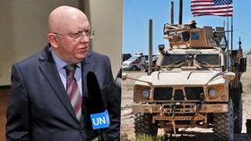 Rusové varovali USA před odvetnou akcí v Sýrii.