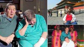 Navzdory zdravotním komplikacím své ženy se Andy Fierlit rozhodl, že vezme svou manželku na cestu kolem světa