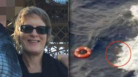 Žena se vrhla z výletní lodi do moře! Zoufalý manžel se ji snažil zachránit.