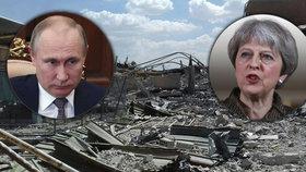 Putin útok na Sýrii odsoudil, Mayová trvá na tom, že byl správný. Britové se připravují na protiútok Ruska, obávají se kyberútoku.