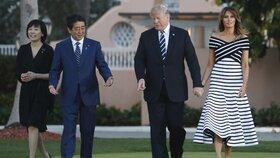 Trump na tiskové konferenci na dálku pohrozil Kimovi, že pokud jejich schůzka nebude plodná, odejde z ní