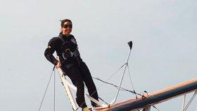 Princezna Latifa je velkou fanynkou skydivingu.