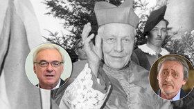 Ostatky kardinála Berana zamíří z Vatikánu do Prahy. Místo Stropnického, který má zdravotní potíže, cestuje do Říma Ilja Šmíd.