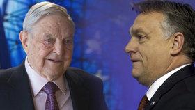 Orbán hodlá pokračovat v boji proti Sorosovi i po odchodu nadace.