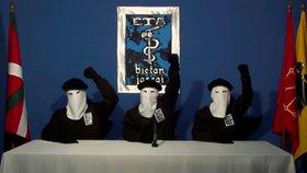 Separatistická organizace Baskicko a jeho svoboda (ETA) přiznala, že páchala zlo a požádala oběti o odpuštění.