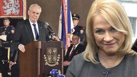 V Poslanecké sněmovně leží žádost, aby prezident Miloše Zeman udělil státní vyznamenání bývalé šéfce premiérova kabinetu Janě Nečasové, dříve Nagyové. Sněmovní výbor ale žádost nejspíš smete ze stolu.