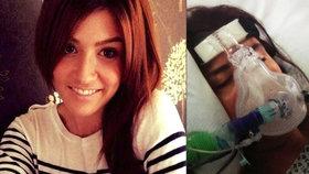 Charlotte kvůli vážné chorobě skončila v nemocnici, o její dceru se musí starat babička.