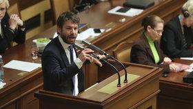 Jednání Sněmovny: Ministr Robert Pelikán (ANO)