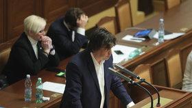 """Miloslav Rozner (SPD) nazval tábor v Letech """"neexistující pseudokoncentrák""""."""
