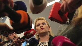 Ministryní spravedlnosti se má stát poslankyně ANO Taťána Malá