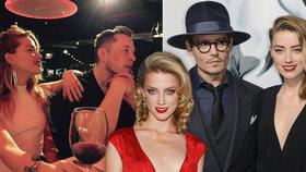 Bisexuální herečka Amber Heard slaví 32! Neudržela si Deppa ani milionáře Muska