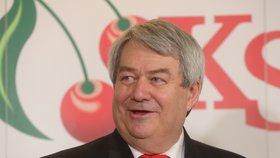 Předseda KSČM Vojtěch Filip (21.4.2018)