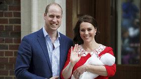 Jméno syna Williama a Kate odhaleno? Palác ho nejspíš omylem zveřejnil