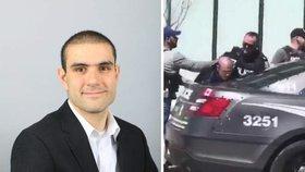Alek Minassian v době útoku