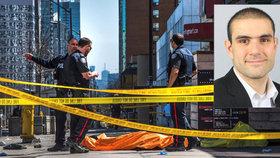 """""""Těla létala vzduchem."""" Dodávka vjela do lidí na chodníku, nejméně 10 jich rozdrtila"""