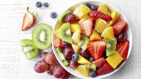 Boxík byl plný ovoce, zeleniny a dalšího vyváženého jídla (ilustrační foto).