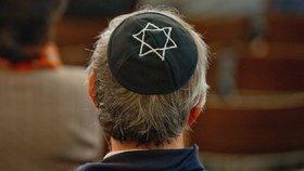 Žid v jarmulce, ilustrační foto.