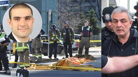 Otec Aleka Minassian, který v Torontu najel do lidí a zabil 10 z nich, Vahe Minassian se omluvil za synův čin.