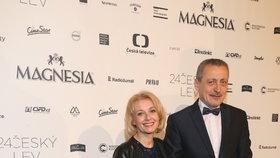 Manželé Veronika Žilková a Martin Stropnický