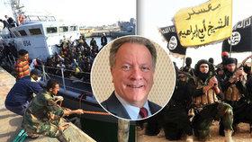 Islamisté míří s uprchlíky do Evropy, varoval člen OSN.