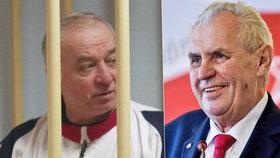 Zeman má od BIS vyžádanou zprávu o novičoku. Tento jed otrávil bývalého ruského agenta Sergeje Skripala.