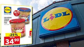 Potravinářská inspekce našla v řetězci Lidl masové konzervy bez masa. Prodávaly se navíc v akci.