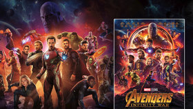 Snímek Avengers: Infinity War přináší od 26. dubna 2018 epický souboj hrdinů.