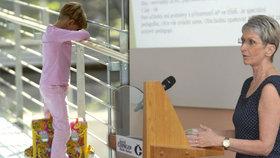 Podle ředitelky základní školy Polabiny v Pardubicích Jany Smetanové se ukazuje, že pro mentálně retardované děti je výuka v běžné třídě utrpením.
