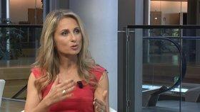 Dita Charanzová (za ANO) v rozhovoru pro Blesk Zprávy ve Štrasburku.