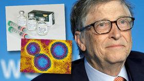 Bill Gates varoval před smrtící pandemií. Uvedl, že je nutné se na ni připravit a vyvinout univerzální vakcínu.