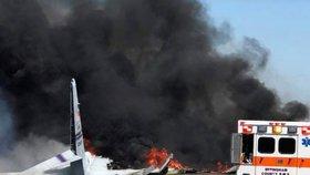 Ruské vojenské letadlo se u syrského pobřeží zřítilo do moře. Nehodu měl zapříčinit pták (ilustrační foto)