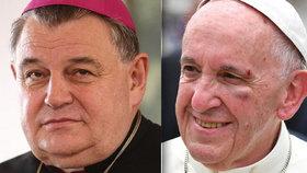 Kardinál Dominik Duka se stal papežským legátem na oslavách v Poznani.