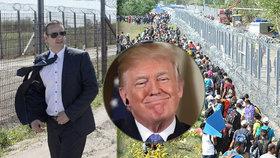 Starosta pohraničního města László Toroczkai se pochlubil plotem, který zarazil uprchlickou vlnu. Doufá, že bude inspirací pro Trumpa.