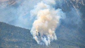 Vysoké Tatry v plamenech