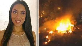 Krásná Helena (†22) zemřela při děsivé nehodě: Její letadlo se změnilo v ohnivou kouli!