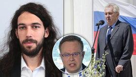U Moravce se řešil novičok a Zemanova slova: Pirát Ferjenčík zaútočil na prezidenta