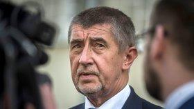 Novičok řešil v pondělí 7.5. i premiér v demisi Andrej Babiš (ANO)
