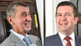 Předsedové ANO a ČSSD Babiš a Hamáček našli shodu na textu koaliční smlouvy