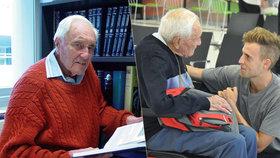 Vědec David Goodall (104) podstoupí zítra v Basileji eutanazii